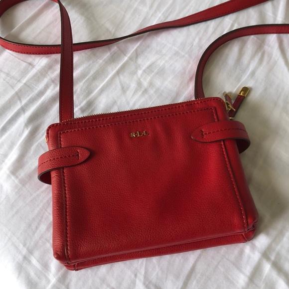 Lauren Ralph Lauren Handbags - Lauren Ralph Lauren red handbag
